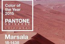 Pantone Color of 2015: Marsala