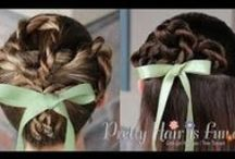 Holiday Hairstyles / St. Patricks Day hairstyles, valentines day hairstyles, christmas hairstyles, fourth of july hairstyles, halloween hairstyles, thanksgiving hairstyles, holiday hairstyles, easter hairstyles