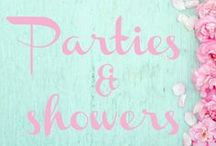 Parties & Showers / Birthday Parties, Baby Showers and Celebration Ideas.