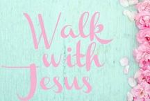 Walk with Jesus / Daily Walk with Jesus, Bible Scriptures and Inspiration.