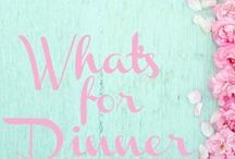 What's for Dinner / Food and Dinners Ideas.