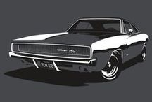 Cars and Bikes / Toys for boys. more muscle cars than new.