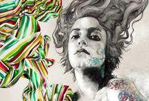 Art + Illustration / Art & illustration: traditional, digital, and mixed media. / by Don Suttajit