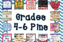 Pins for Grades 4-6 / Welcome! This group of upper elementary bloggers will stay small, so you won't be overwhelmed by pins. We look forward to sharing with you!   Pinning Guidelines: Please pin only one paid and one free/informational item -or- two free/informational items per day. / by Fifth in the Middle