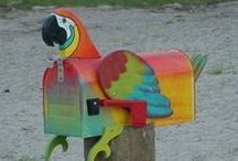 Mailboxes / We LOVE mailboxes!