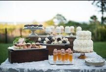 • Bar à desserts • / Cake / Bar / Dessert / Mariage / Reception / Wedding