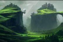 Concept--Env/Nature/cities / by jesu kiran