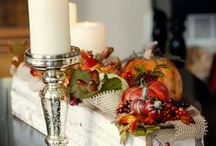 FALL YA ALL / beautiful decorations to welcome others to your home and then the flavorful fall foods to serve them.