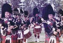 Bagpipes & Drums / The Alma Highland Festival & Games wouldn't be complete without bagpipes and drums!