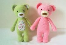 ElaMakrelaCrochet / crochet teddy bears and amigurumi toys, lalylala
