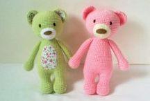 ElaMakrelaCrochet / crochet teddy bears and amigurumi toys, lalylala