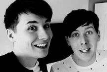 Dan & Phil / Danisnotonfire and AmazingPhil as well