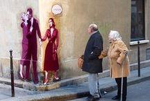 Street Art in Paris / The street art works we have seen in Paris...