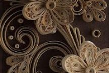 Paperolles ... Quilling ... / by Edith AndreC.