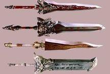 weapon / RPG的な武器。