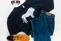 Style Your Animal Tee / Dress up or dress down your super comfy Cause You Care gear!