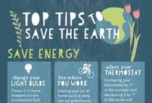 Save the Earth / Tips and tricks to help YOU save the Earth!