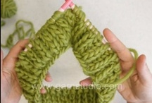 stitches / Various knit, crochet, or sewing stitches