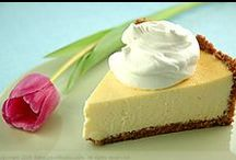 Food: Sweet bites / Here  you can find cheesecakes, desserts with cream
