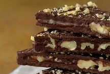 ! RECIPE: CANDY CHOCOLATE NUTS SWEETS etc.. / COOKING SWEETS, CHOCOLATE, JUST DELISH! AND FUN