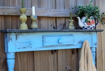 REPURPOSED / PAINTED FURNITURE / by Sandy Haze