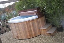Cedar Hot Tubs / Contemporary Cedar Hot Tubs - Therapeutic, Affordable and Reliable  People who Hot Tub regularly, feel better - fact!  Cedar  Nursery has a fully-working hot tub on display.