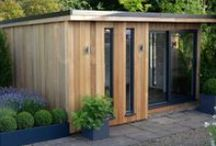 Cedar Garden Rooms / Our Cedar Garden Room range offers elegant, eco-friendly and durable spaces to complement and enhance your home and garden. Our design team will work closely with you to create a garden room solution that fits your needs. Our garden rooms offer perfect solutions for office space, Shoffice (shed + office), home gyms, studios, playrooms, additional entertaining spaces or guest rooms.