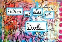 doodles / doodling / by Cheryl Mcgibbon