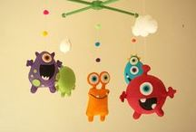 Baby mobiles & Hanging decorations