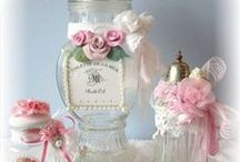 ~Decorated bottles and Jars~ / All kind of bottles. NO PIN LIMIT!! / by ღWillemijntje's BrocanteHoekjeღ