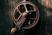 Antique tools and machines