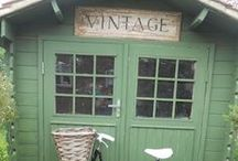 ~The Shabby Green Cottage~ / all beautiful things in the color green shabby chic and brocant. NO PIN LIMIT!!