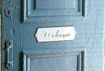 ~The Shabby Bleu Cottage~ / all beautiful things in the color bleu..shabby chic and brocant. NO PIN LIMIT!!