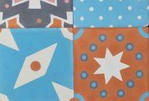 Carreaux de ciment / Tiles / Les motifs de Petit Pan sur des carreaux en ciment ? Oh Yeah !