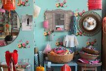 Atelier Petit Pan / Petit Pan's workshop / Dans l'atelier règne un joyeux méli-mélo propice à l'inspiration...