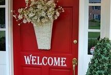 ~The Shabby Red Cottage~ /  Pretty shabby chic and brocante in red NO PIN LIMIT!!