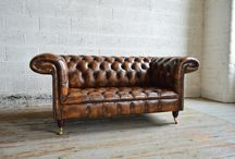 Leather Chesterfield Sofas & Chairs / Chesterfield Sofas are an iconic piece of history. Our Leather Chesterfield Sofa ranges includes chairs, snuggle chairs, 2 seaters, 3 seaters 4 seaters. We also offer bespoke services on all our Chesterfield Sofa designs to make extra large and deep Chesterfield Sofas. The leathers used on our Chesterfield sofas range from modern bright and bold exuberant to the subtle. As well traditional antique and vintage leathers. Full range of Leather Chesterfield Sofas - http://bit.ly/1LF5R65