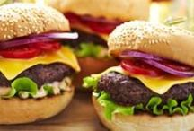 Burger party / How to throw a burger party. Ideas and recipes...