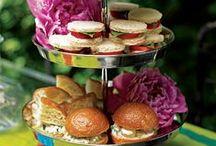 Tea time! / Ideas  and recipes for tea treats.