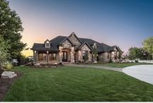 """2015 Salt Lake Parade of Homes / """"People's Choice Award"""" by Tree Haven Homes, 2015 Salt Lake Parade of Homes. Home entertainment & automation control by TYM."""