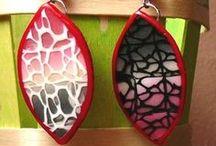 fimo et polymere clay / quelques réalisations en polymère faites entièrement à la main