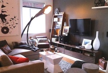 Manly Modern/Vintage Condo-M / Residential interior design of a modern/vintage condo tailored for a male client.