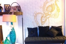 Eye Candy ... Home-S  / Residential interior design of an eclectic/contemporary living room.