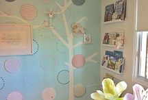 A Touch of Sprinkles... Nursery-M / Residential interior design of a nursery for a baby girl. The inspiration was scrapbooking.