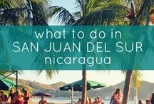 Things to do in San Juan del Sur / What's on tap in San Juan del Sur? Well, for a start we counted over 15 easily accessible beaches, most teeming with fish and surf breaks.  But the interior has it's special moments too.  Check out things to do in San Juan del Sur, Nicaragua.