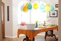 Party Ideas / Fun ways for mom to plan a party for a girl or boy.