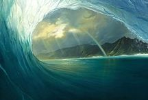 Surf Art / An amazing collection of Art inspired by the ocean and it's surf!