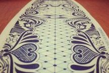 Surf Boards / Beautiful surfboard art and surfboards.
