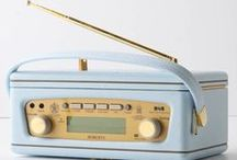 Listening to the old radio / by Marilyn Wallace