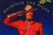 Royal Canadian Mounted Police / by Marilyn Wallace